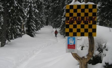 Tatry. W górach niebezpiecznie. Trzeci stopień zagrożenia lawinowego