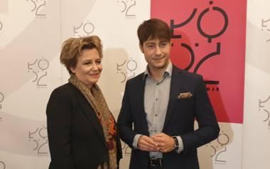 Hanna Zdanowska i Adam Pustelnik