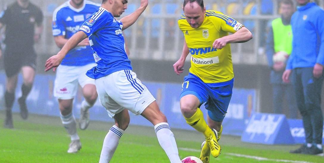 W poprzednim sezonie Wigry w półfinale Pucharu Polski odpadły po dwumeczu z Arką Gdynia