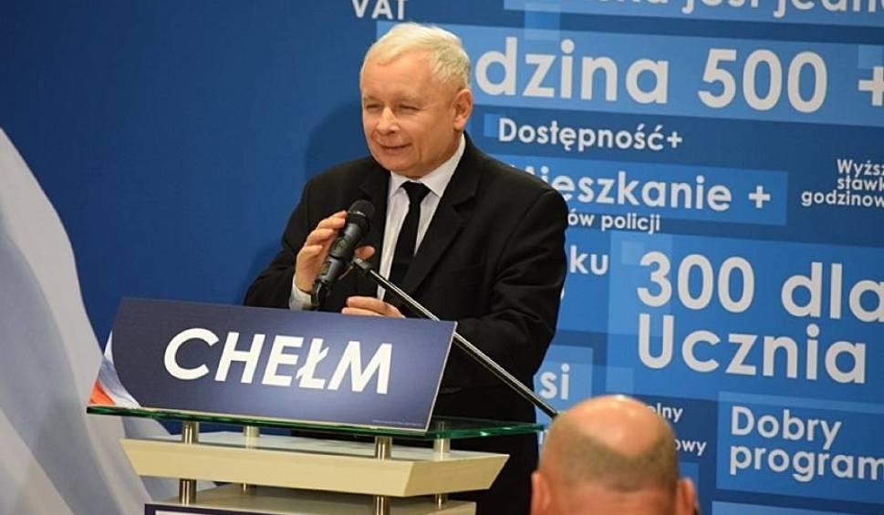 Film do artykułu: Jarosław Kaczyński w Chełmie: PiS zrobi to, co zapowiada