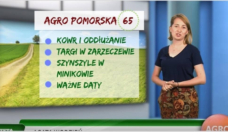 Film do artykułu: Agro Pomorska odcinek 65: oddłużanie gospodarstwa, relacje z targów [wideo]
