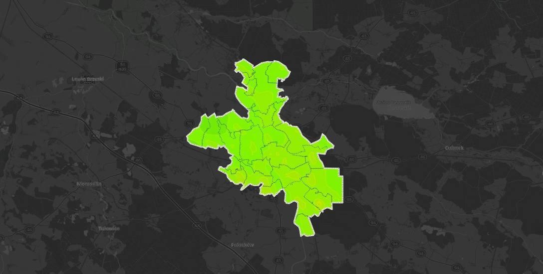 SMOG W OPOLU. Mapa jakości powietrza w mieście [PROGNOZA]