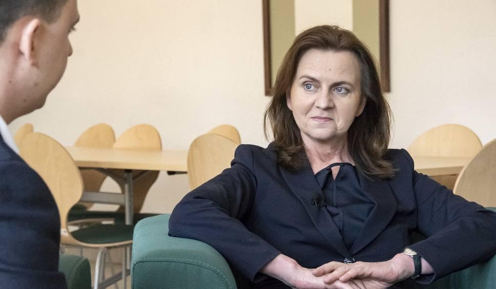 Film do artykułu: Gertruda Uścińska, prezes ZUS: Około miliona osób zarabia w tzw. szarej strefie (ROZMOWA TYGODNIA)