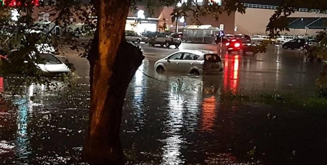 Potop, czyli raz do roku w Białymstoku. Ulewa znów zalała miasto