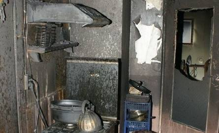 spalona przez szaleńca kuchnia