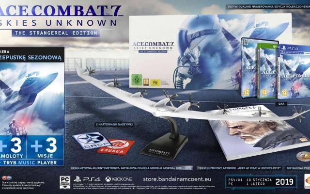 Ace Combat 7: Skies Unknown. Edycja kolekcjonerska nadlatuje (wideo)