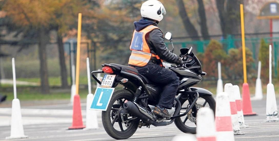 Jest cieplej, dlatego WORD-y wznawiają egzaminy na motocyklowe prawo jazdy. Również na Podkarpaciu