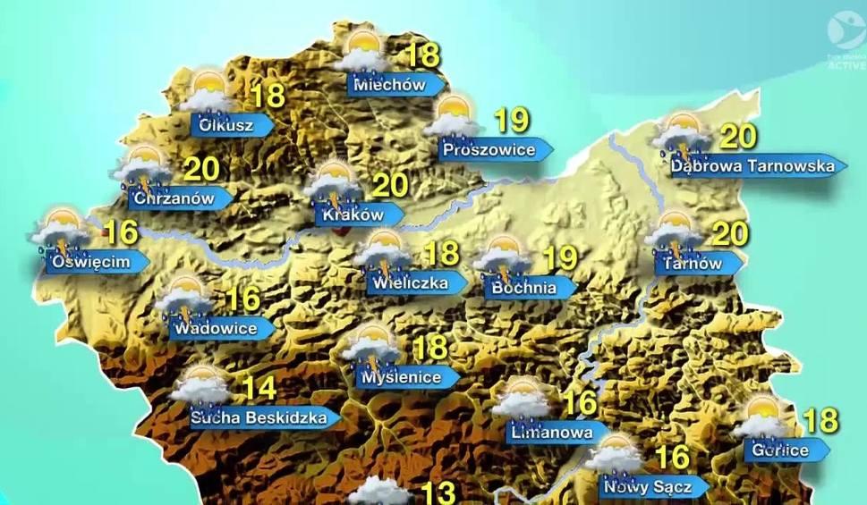 Film do artykułu: Prognoza pogody na sobotę dla Małopolski [WIDEO]