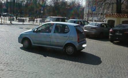 Używaj wyobraźni parkując
