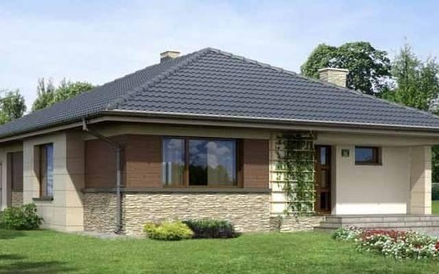 Dom energooszczędny powinien mieć prostą i zwartą bryłę.
