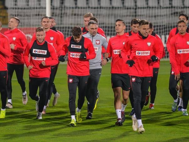 Trening Polaków na stadionie przy Traugutta w Gdańsku