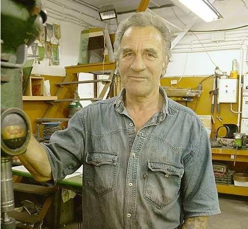 Bronisław Pszonak przez lata prowadził zakład metalowy