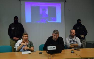 Konferencja prasowa Biura Rutkowski w Przemyślu.