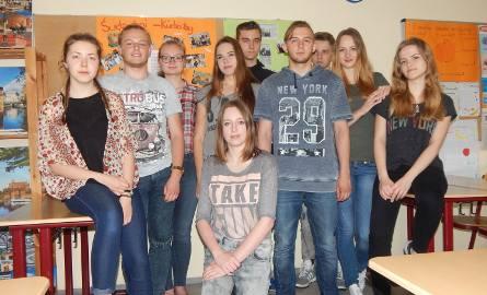 Polacy z 10 klasy Pestalozzi zachęcają do nauki w Guben.
