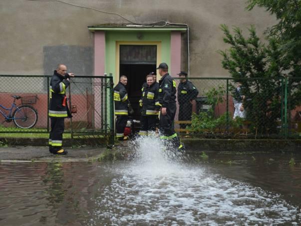 Skutki burzy w Malborku 20.06.2019