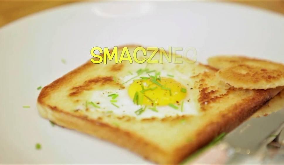 Film do artykułu: Przepis na idealne śniadanie. Tost zapiekany z jajkiem sadzonym