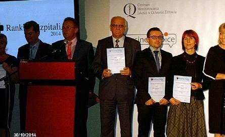 Szpital w Hajnówce w Złotej Setce. Jest na 27. miejscu w Polsce