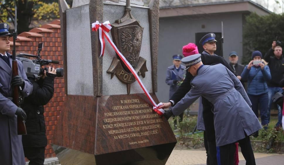 Film do artykułu: Sosnowiec: uroczyste odsłonięcie pomnika na 100-lecie niepodległości Polski przy katedrze NMP WIDEO + ZDJĘCIA