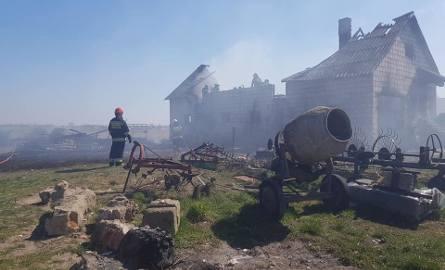 Pożary w powiecie ostrołęckim. Rekordowa doba