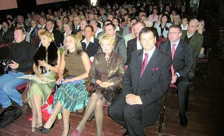 Bogusław Kaczyński (na zdjęciu obok Magdy Zawadzkiej) zostanie honorowym obywatelem Lipna