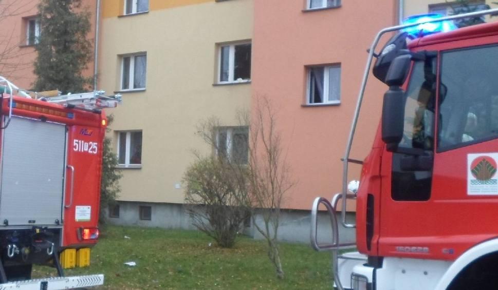 Film do artykułu: W bloku we Włoszczowie wybuchł gaz!
