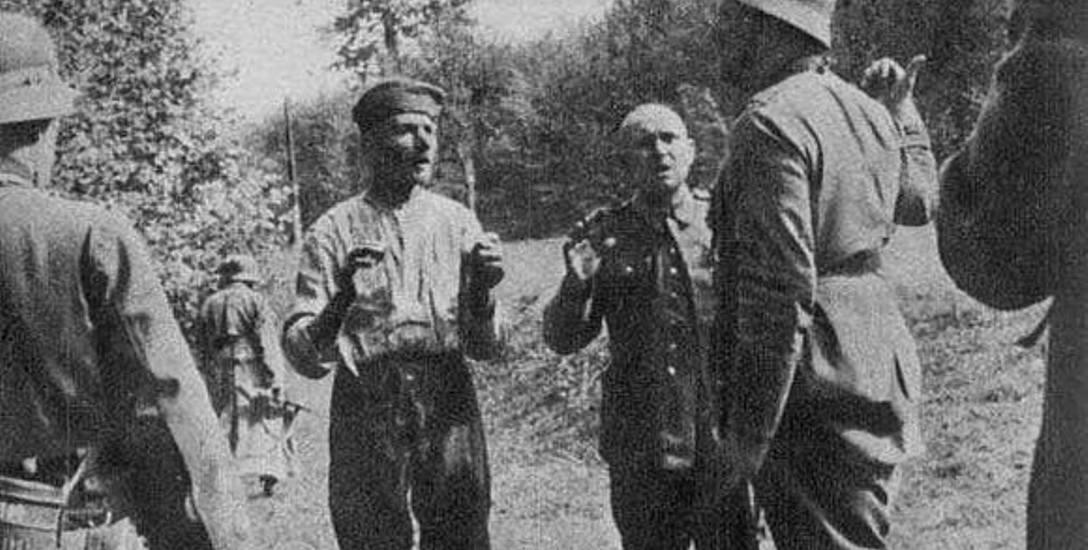 Pułkownik Walter Wessel wydający rozkaz egzekucji polskich jeńców.