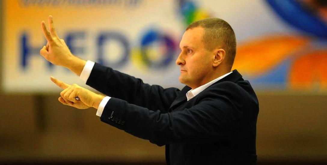 Mariusz Niedbalski, trener koszykarzy Miasta Szkła Krosno: Muszę widzieć serce zostawione na parkiecie