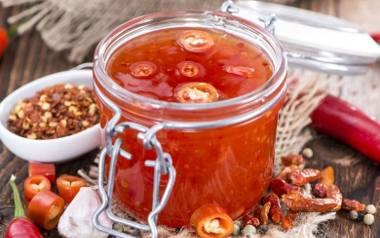 Słodko-kwaśny sos z chili do dań z grilla.
