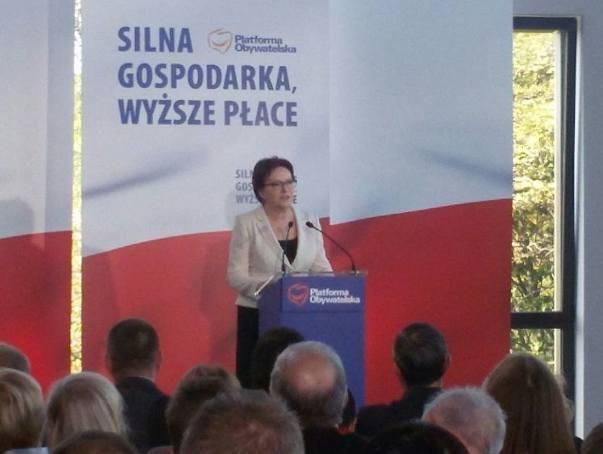 Premier Ewa Kopacz w Lubuskiem [ZDJĘCIA]