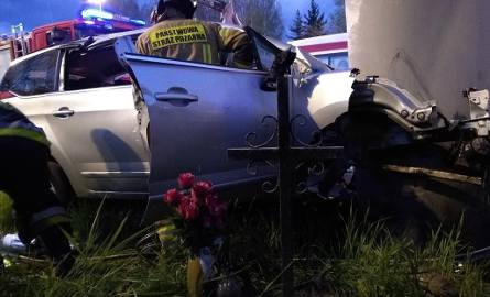 Śmiertelny wypadek na A4 w Katowicach. 37-letni kierowca roztrzaskał się o przęsło wiaduktu. To nie pierwsza tragedia w tym miejscu ZDJĘCIA