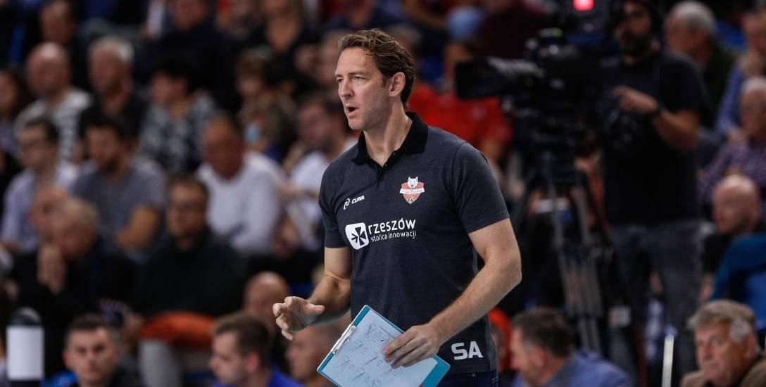 Stephane Antiga, trener Developresu Rzeszów: Atmosfera jest świetna, bardzo dobrze nam się współpracuje