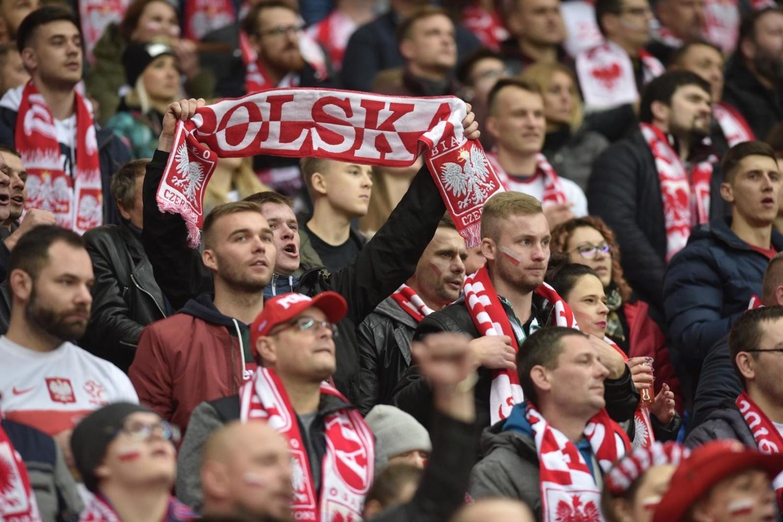 Polska - Słowenia. Zobacz zdjęcia biało-czerwonych kibiców na meczu! [GALERIA]