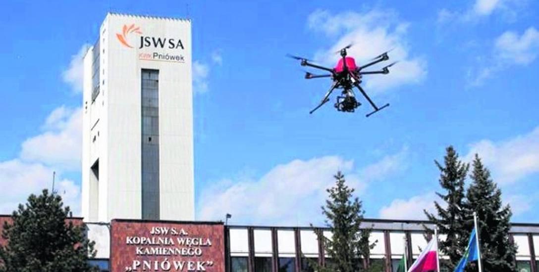 Drony w kopalniach na Śląsku pomogą szacować, jak duże są szkody górnicze