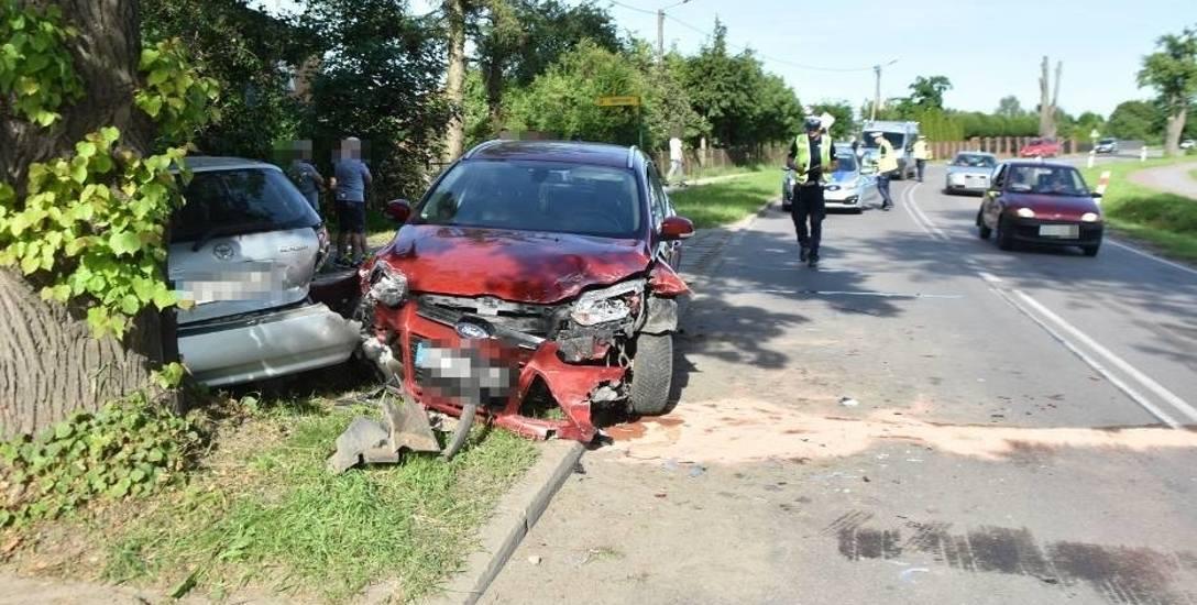Szybkość, brawura i alkohol za kierownicą zbierają żniwo także na drogach powiatu inowrocławskiego