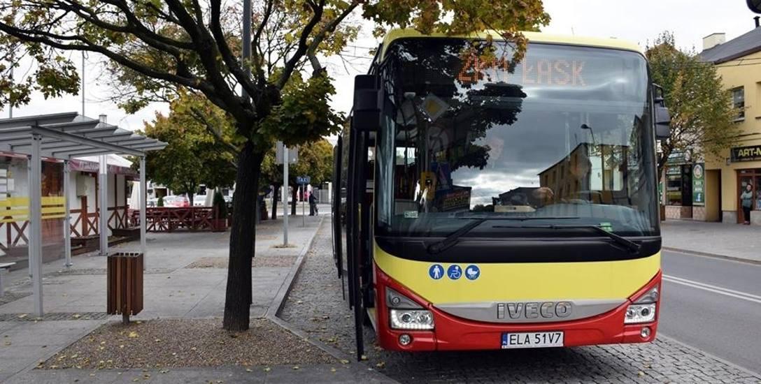 Kolejne trzy autobusy przyjechały do Łasku. Będzie ich jeszcze osiem