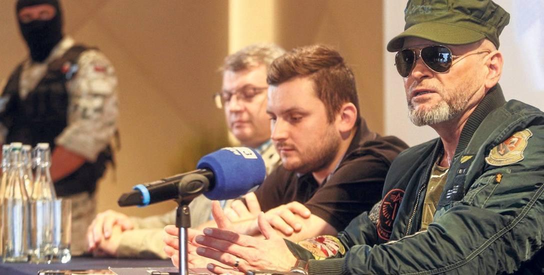 Krzysztof Rutkowski na jednej z konferencji prasowych mówił o zatrzymaniu Cyklopa