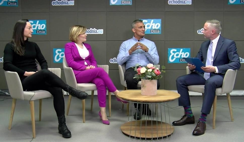 Film do artykułu: Goście Dnia. Anna Krupka, Sandra Drabik, Wojciech Bartnik o spotkaniach z olimpijczykami w świętokrzyskich szkołach