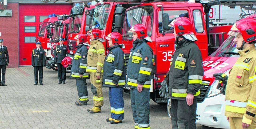 Smutne i kameralne było tegoroczne strażackie świętowanie