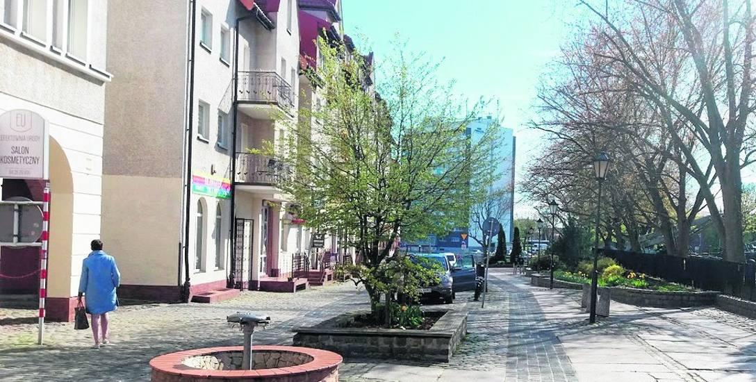 Nawierzchnia ulicy Gierczak po przebudowie ma być bardziej przyjazna dla pieszych