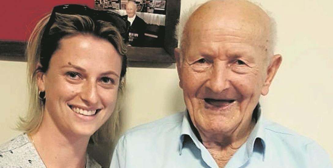 Na 93-latka czeka ciepły dom z ogrodem na Orawie. -  Zrobimy wszystko, by tam zamieszkał - mówi Malenie Payne, która wraz z Mateuszem walczy o spełnienie