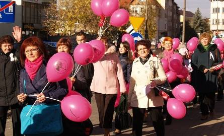 Ostrołęka. To jest wielka kampania życia! Marsz Amazonek 2010