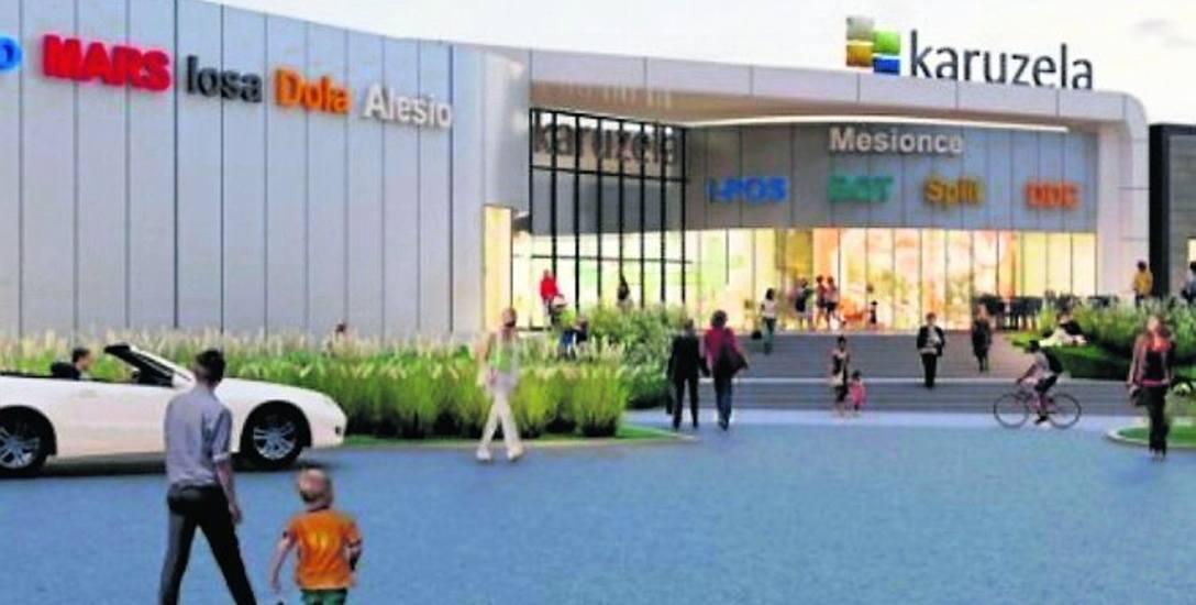 Galeria handlowa Karuzela ma być gotowa w II kwartale 2021r. Przy galerii powstanie sklep Leroy Merlin