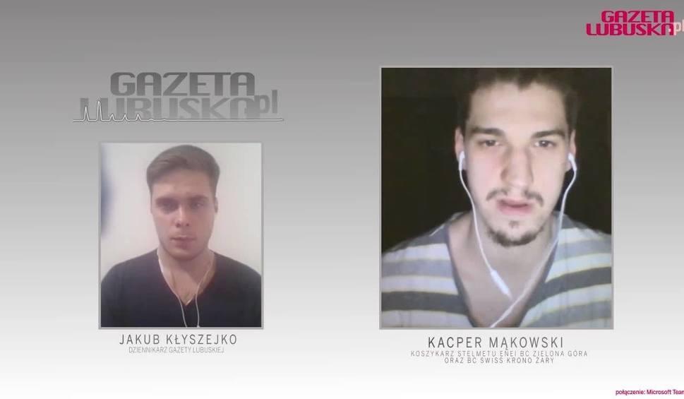 Film do artykułu: Rozmowa wideo z Kacprem Mąkowskim. - Czułem się ważną częścią tego zespołu.