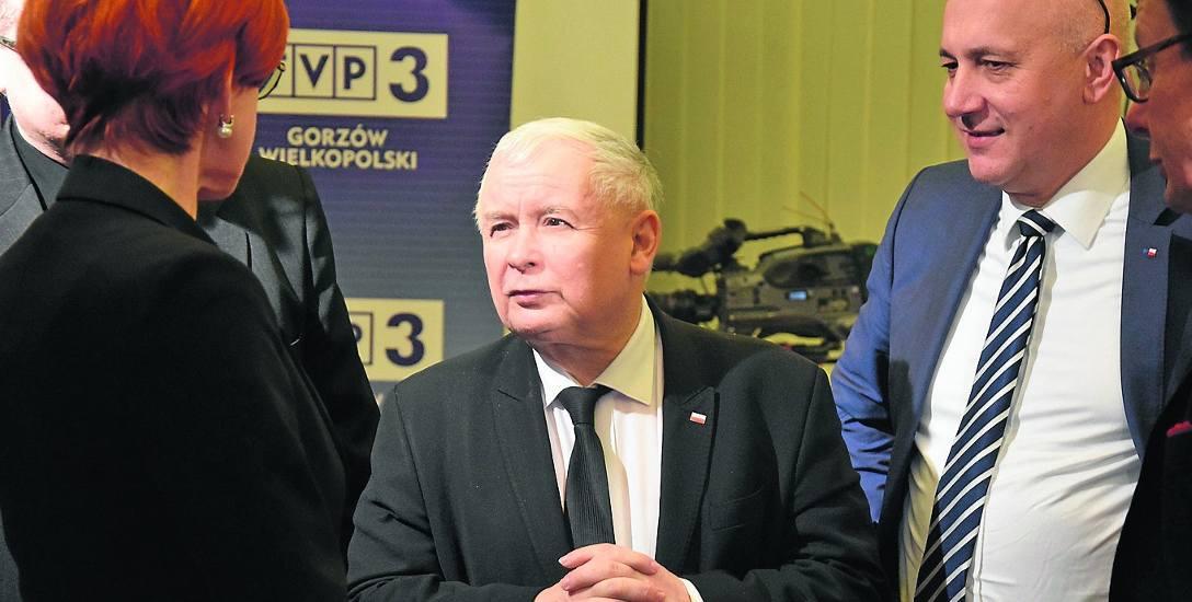 Musimy realizować dobrą zmianę - mimo nacisków i krzyków - aby uczynić Polskę lepszą - mówił w Gorzowie Jarosław Kaczyński.