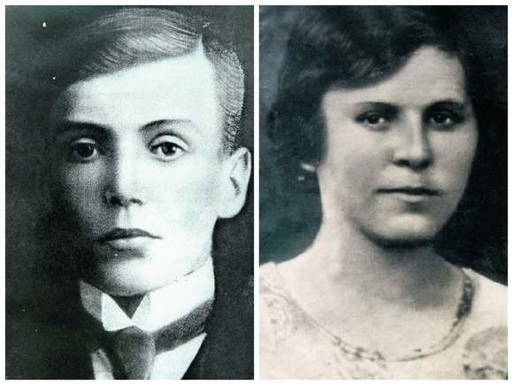 Stanisław i Jadwiga Hałoniowie, rodzice pani Apolonii