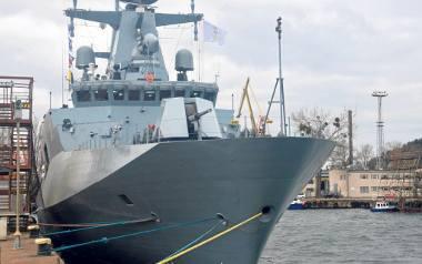 ORP Ślązak na morzu. Trwa testowanie systemów napędowych