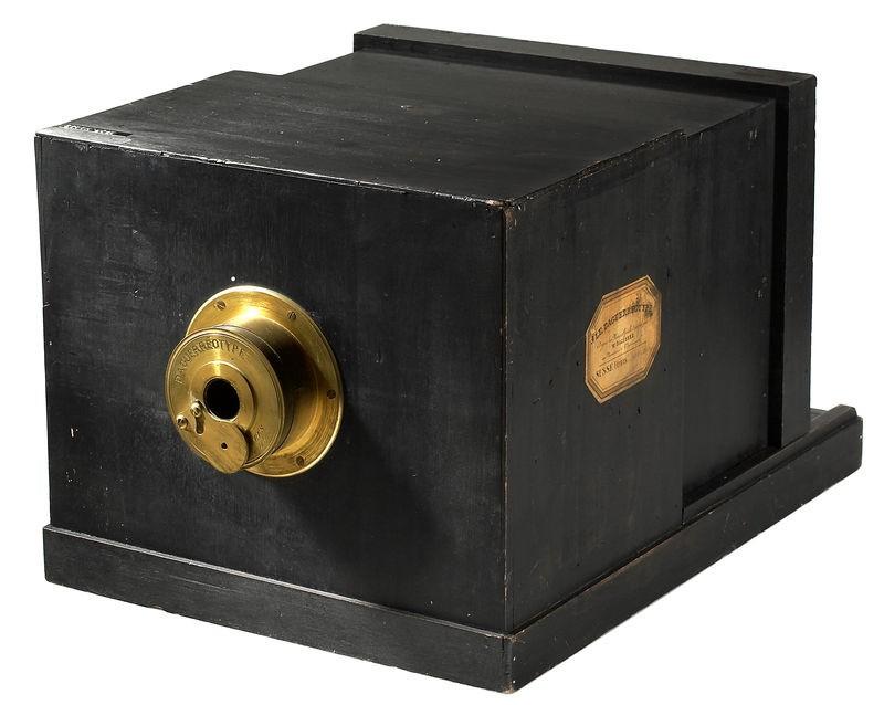 Aparat do wykonywania dagerotypów z 1839