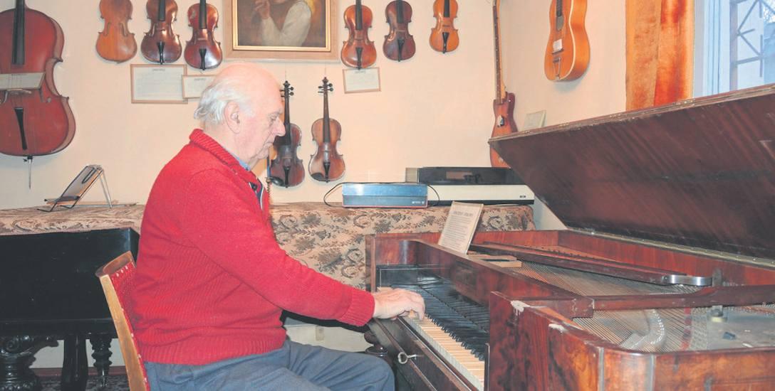 Wyjątkowe instrumentarium w Sławnie. Rozmowa z kapelmistrzem