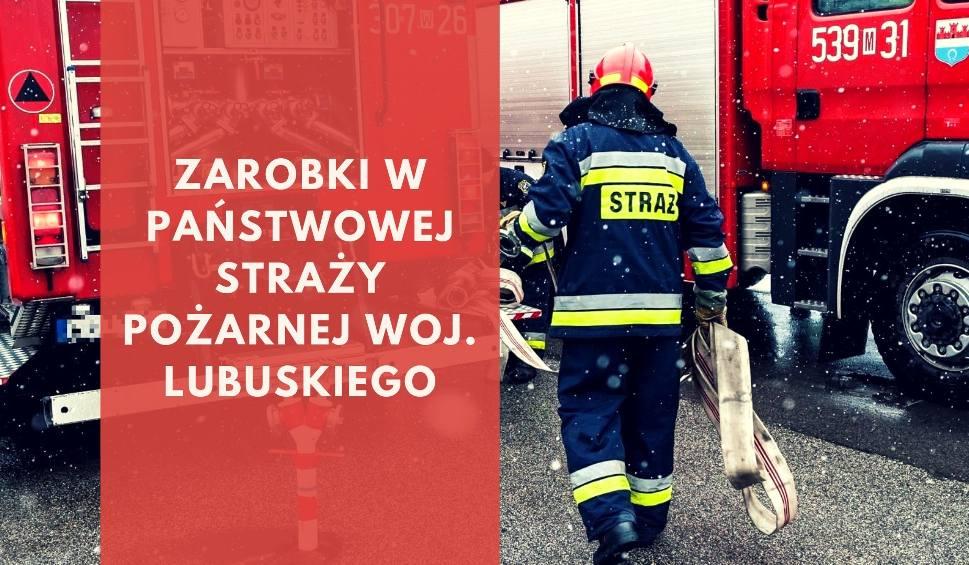 Film do artykułu: LUBUSKA LISTA PŁAC. Zarobki w straży pożarnej. Ile zarabiają strażacy z poszczególnych korpusów, komendanci oraz ich zastępcy?