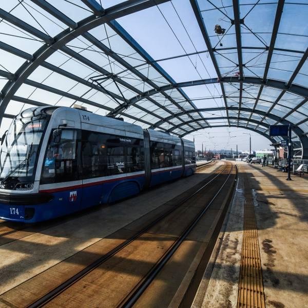 Budowa linii tramwajowej do Fordonu to jedna z inwestycji zrealizowanych dzięki dofinansowaniu ze środków unijnych.